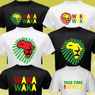 New Waka Waka Shakira for Africa World Cup FIFA T Shirt