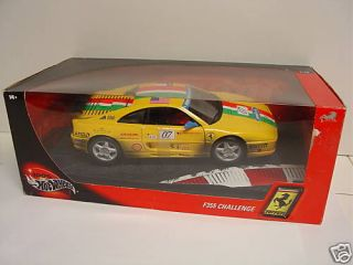 Ferrari F355 Challenge Hot Wheels Racing 1 18 Scale