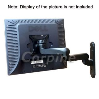 LCD Flat Screen TV Monitor Swivel Tilt Wall Mount M08