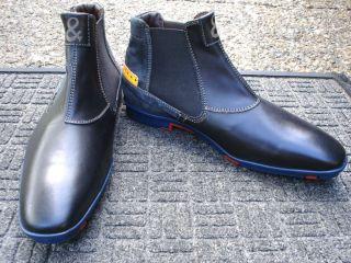 Incredible Super Stylish Black Floris Van Bommel Timberland Boot SIZE
