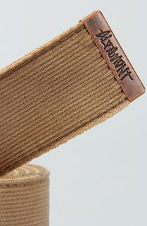 Altamont The Company Belt in Camel Concrete