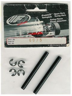 FG 1 5 Modellsport 6075 Rear Upper Wishbone Pin w E Clips 1pr New
