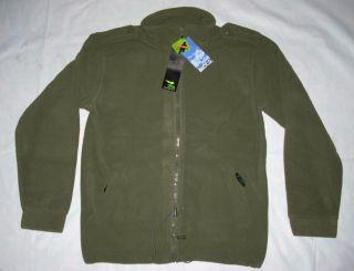 Israeli IDF Mens Polar Fleece Jacket One Side s XXXL NWT