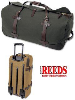 Filson Wheeled Duffle/Luggage Bag (Large / Otter Green)   283 OT