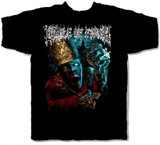 CRADLE OF FILTH cd lgo VAMPIRE PRIEST Official SHIRT LRG new