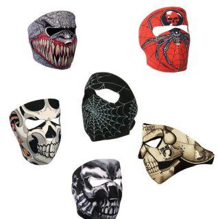 Neoprene Biker Face Mask Paintball Mask