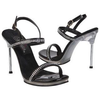 Womens   Black   Sandals   Dress
