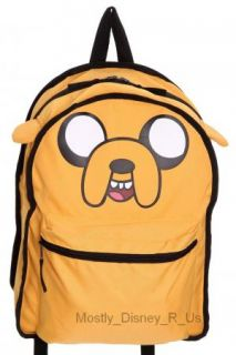 Adventure Time Finn And Jake Reversible Backpack Book Bag NWT