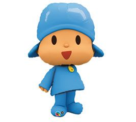 41 Pocoyo Happy Birthday Party Fiesta Mylar Foil Balloon