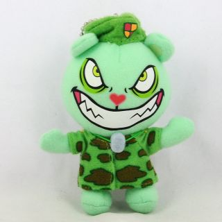 Happy Tree Friends Flippy Green Plush Stuffed Doll Ball Chain 4 10cm