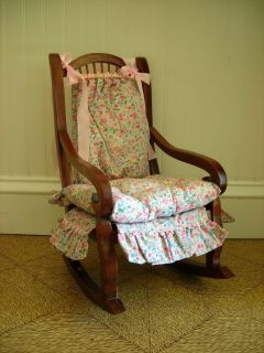 Life of Faith Elsies Rosewood Rocking Chair American Girl Doll