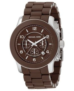 Brand New Michael Kors Brown Chronograph Men's Watch MK8129