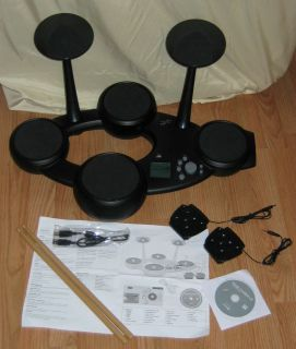 First Act Pro Digital Drum Set Rock out with real drum sounds and real