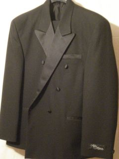 Falcone Lexus After Midnite Tux Tuxedo 2pc Black Pants Jacket 36 38 40