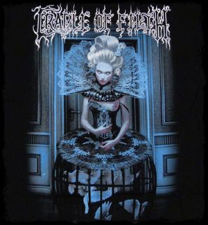 Cradle of Filth   Whorring Dark Dominion t shirt   Official   FAST