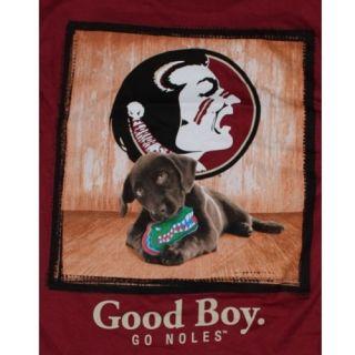 Florida State Seminoles T Shirts Mans Best Friend Good Boy T Shirt