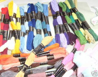 Embroidery Floss 36 Skeins 6 Strand Thread 36 Shades