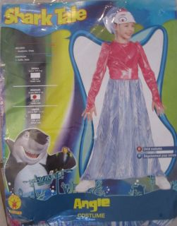 Angie Colorful Angel Fish Deluxe Child Costume Size M 8 10 New