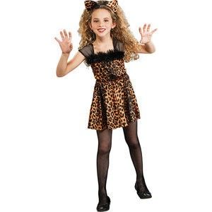 New Sweet Kitty Cat Girl Halloween Costume 4 6X Leopard