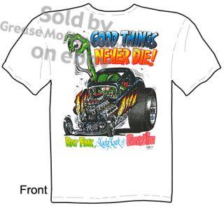Good Things Rat Fink T Shirt Rat Fink Shirt Ed Roth Tee Sz M L XL 2XL