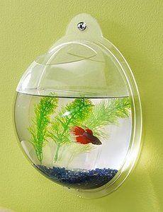 Wall Hanging Fish Tank Mount Bubble Aquarium Bowl Fish Tank