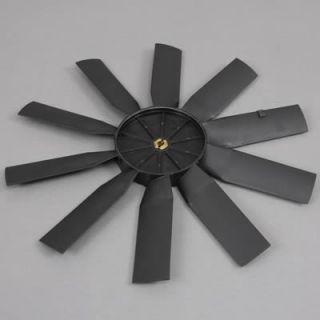 Fal 32164K Electric Fan Blade Replacement Plastic Black 15 Diameter