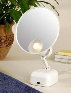 15X Supervision Lighted Magnifying Makeup Mirror FL 615 FLOXITE