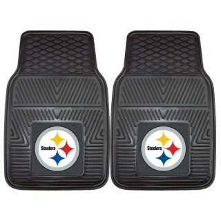 FANMATS Pittsburgh Steelers 2 Piece Vinyl Car Mats 8752