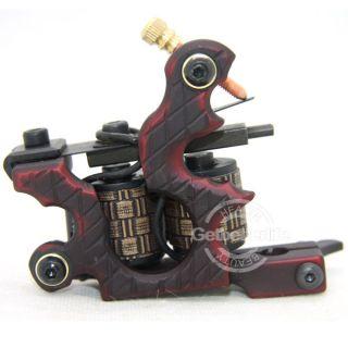 Pro 10 Wraps Coil Iron Shader Tattoo Machine Gun Supplies