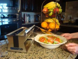 "12"" Stainless Steel Food Wrap Dispenser"