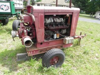 Irrigation Pump Perkins V8 Diesel Hale Pump 6x6 inch Trailer Mounted