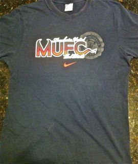 Manchester United Football Club Red Devils Vintage Premier League Nike