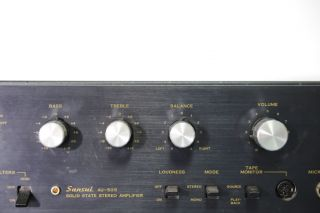 Vintage Sansui AU 505 Stereo Amplifier High Quality Made in Japan