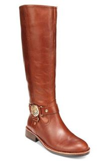 Vince Camuto Tall Knee High Leather Farrow Riding Style Sleek Sizes