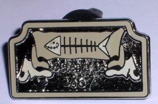 Tombstone Fish Haunted Mansion Hidden Mickey Disney Pin