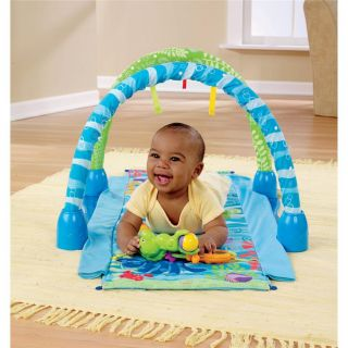 Fisher Price Ocean Wonders Gym Baby Toy for Development Kick and Crawl