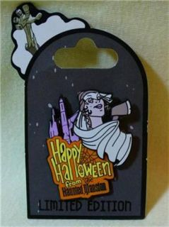 Walt Disney World Halloween Haunted Mansion Bride Constance LE Pin