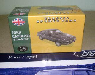 Atlas 1 43 Scale Ford Capri 280 Brooklands Sports Car