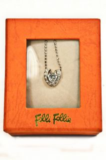 Folli Follie Heart Shaped Sterling Silver Necklace