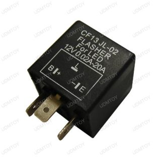 pin Electronic LED 12V Flasher Relay Fix For Turn Signal (Japanese