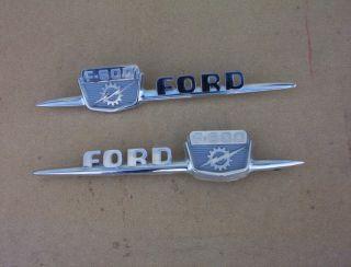 1959 Ford Truck Hood F600 Emblems