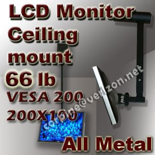 Plasma LCD LED Flat Panel TV Tilt Ceiling Mount 19 23 24 26 27 29 32
