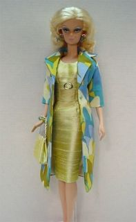 Handmade Dress and Coat for Silkstone Fashion Model Barbie