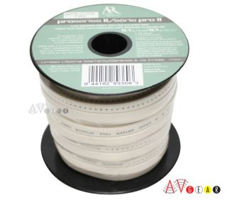 Acoustic Research Flat Speaker Wire Cable 30 ft 16 AWG
