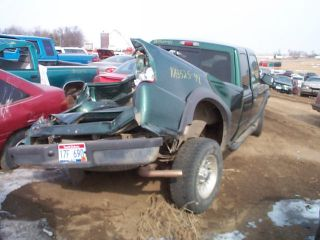 1999 FORD RANGER REAR AXLE ASSEMBLY 3.73 RATIO 55604 MILES