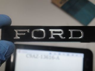 1969 Ford LTD XL Hardtop Convertible FORD Ornament Emblem Grille or