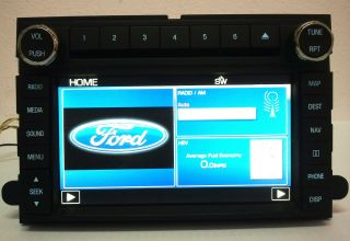 2010 2011 2012 FORD ESCAPE EXPEDITION NAVIGATION GPS RADIO SYSTEM UNIT