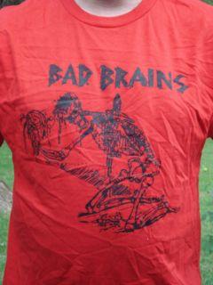 Fearless Vampire Killers Bad Brains Punk Shirt Medium