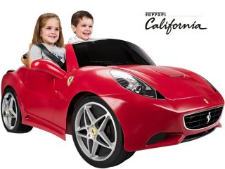 Ferrari Kids Battery Powered Electric Ride on Sports Car Toy