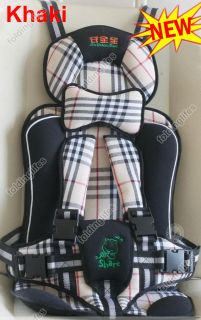 Baby/Child/Infant Car Safety/Secure Booster Seat Cover Harness Cushion